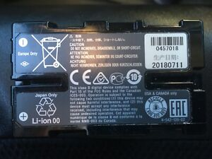 Sony BP-U30 Lithium Ion Camcorder Rechargeable Battery