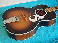1960's Vintage Kay  parlor guitar Note model Harmony made ? sunburst  VGCond.