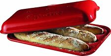 Flame Baguette Baker Burgundy Bread Loaf Bread Pan Kitchen Bakeware Dough New