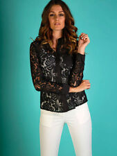 Lace Long Sleeve Regular Formal Tops & Blouses for Women