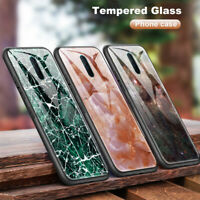For LETV LeEco 2 Pro Marble Cover Tempered Glass Case for OPPO A39 A59 A9 F1S F9