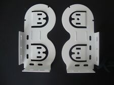 1 PAIR: Rollease Double Horizontal Skyline Bracket SET (# SLB660DBH) 4 COLORS