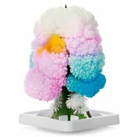 Magic Growing Tree Cardboard Model Grows Crystal Flowers Discovery Toy Gift Kids