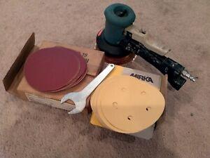 """Dynabrade 58435 5"""" Dual Action Orbital Sander - 12000RPM random USA"""