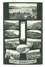 Postcard Port Bannatyne  Argyll & Bute 1905 Rothesay Ettrick Bay