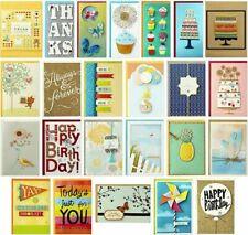 Hallmark All Occasion Handmade Boxed Set of Assorted Greeting Cards with Card Or