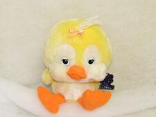 Vtg 1984 Emotions Plush Yellow Duck Little Stuffed Animal Mattel Toys CLEAN