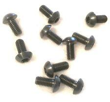 2 unidades Titan Tornillos M5 X 10mm CABEZA LENTE ISO 7380 Grado 5