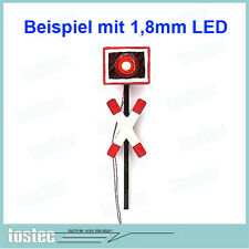 Andreaskreuz LED Blinkmodul Modellbau 14 Simulationen - micro Blink Modul B9