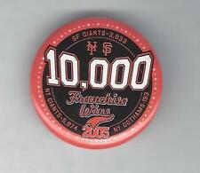 SGA San Francisco Giants 2005 10,00 Franchise wins Button