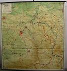 Schulwandkarte Wall Map Wall Map Card Card Detmold Weser Weserbergland 203x214