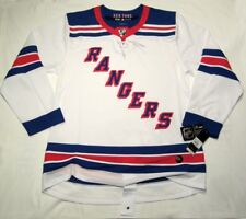 NEW YORK RANGERS size 54 = sz XL ADIDAS NHL HOCKEY JERSEY Climalite Authentic wh