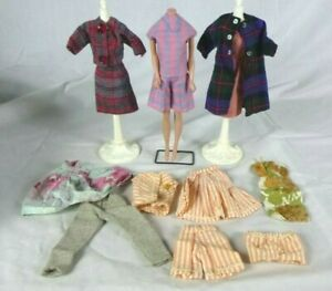 13 Pcs Vtg Barbie Clone & Handmade Clothing CUTE outfits!