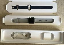 Apple Watch Series 3 38mm Silver Aluminum GPS Cellular Verzion LTE extra Band