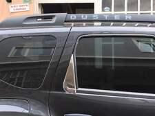 2010-2017 Dacia Duster Chrome Quarter Panel Trim Cover 2Pieces S.Steel