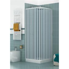 Box doccia Luna 70x90 cm in PVC con apertura a soffietto laterale