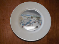 "Atlas China NY GRANDMA MOSES Dinner Plate 10"" asst designs 1 ea  4 available"