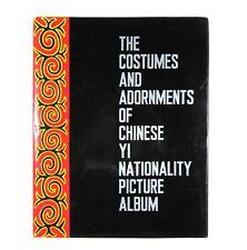 BOOK Costumes & Jewelry Chinese Yi Ethnic Minority traditional dress Asian folk