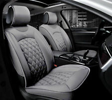 Sitzbezüge grau vorne PRA BMW 5ER