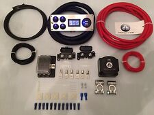 Vw Transporter 140a 12v Split Charge Complete Kit Fittings/Fixings/Switch Panel