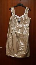 Coctailkleid Abendkleid Ballkleid Partykleid Gr. 42  Seide in gold von Viventi