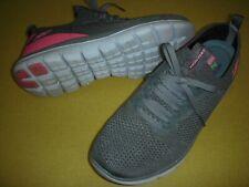 Skechers Turn Knit, Memory Foam Faux Lace Slip-On Sneakers Women's 8 M Olive