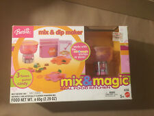 Vintage 2003 Nib Barbie Mix Magic Kitchen Accessory Mix Dip Maker 2000s Toy