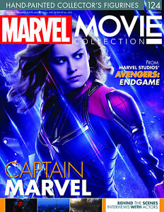 "MARVEL MOVIE COLLECTION #124 ""AVENGERS ENDGAME: CAPTAIN MARVEL"" FIGURINE"