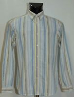 MENS BEN SHERMAN SHIRT LONG SLEEVE COTTON SIZE M VGC