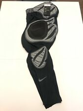 Nike Pro Hyperstrong Hard Plate Football Tights Black 838428-010 Mens Size Large