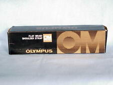 OLYMPUS OM FLAT BRAID SHOULDER STRAP NEW IN BOX