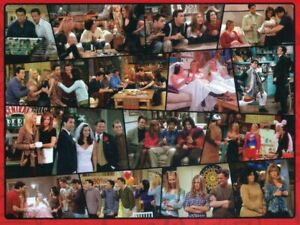 """New/Sealed """"Friends TV Series Classic Collage Show Scenes Puzzle"""" (300pc 18x24)"""