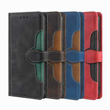 For Huawei P50 Y7A Nova 5T Y5p P30 Lite Straw Hat Wallet Leather Flip Cover Case