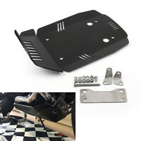 Black Aluminum Skid Plate Engine Guard Extension Für BMW R NINE T 2013-2018 GER