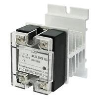 lyhpcom DC 3-32V to AC 24-480V 40A Single Phase SSR-40DA Solid State Relay