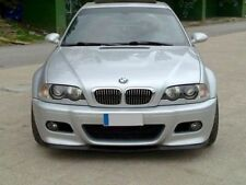 GENUINE BMW E46 M-Sport M FRONT BUMPER lower SPLITTER SPOILER PTN Trim Lip Addon