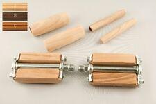 Pedali, manopole e manopoline in legno per bici vintage con freni a bacchetta