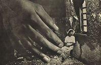 1940s Vintage Surrealist Modernist Giant Hand Lionel Wendt Photo Gravure Print
