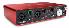 NEW! Focusrite Scarlett 2i4 (2nd Gen) USB Audio Interface with Pro Tools/First