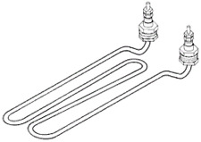 HEATING ELEMENT for  AUTOCLAVES NATIONAL APPLIANCE  704-8000 RPI # NAH004