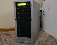 Disc Makers Reflex 7 Multi-CD Multi-DVD 7 Disk Drive Duplicator Burner Copier
