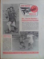 FUWO 40 - 4.10. 1960 Vorschau Pokalfinale Lok Leipzig-Zwickau 2:3 Jena-ASK 1:2