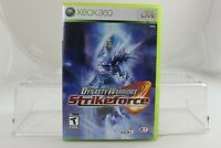 Dynasty Warriors: Strikeforce (Microsoft Xbox 360, 2010) Complete with Manual