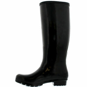 Womens Ladies Funky Festival Wellies Shoes Rainy Snow Boots Wellingtons Size