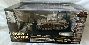 FORCES OF VALOR UNIMAX 80214 (2004) GERMAN PANZER IV 4 AUSF. G KOWEL 1944 BOXED