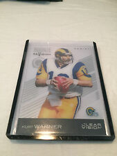 2015 Panini Clear Vision Rookie Revision Kurt Warner St. Louis Rams #87