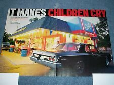 "1964 426 Super Stock Dodge 330 Drag Car Article ""It Makes Children Cry"" Polara"