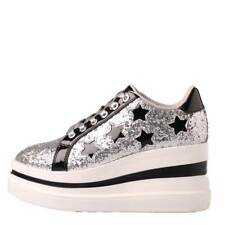 SCARPA DONNA GUESS SNEAKERS ZEPPA STARS SILVER 120