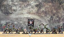 10 WARHAMMER Fantasy battle well painted plastic Orks Games set 3