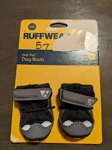 Ruffwear Grip Trex All Terrain Dog Boots Size 1.5 in Black One Pair New